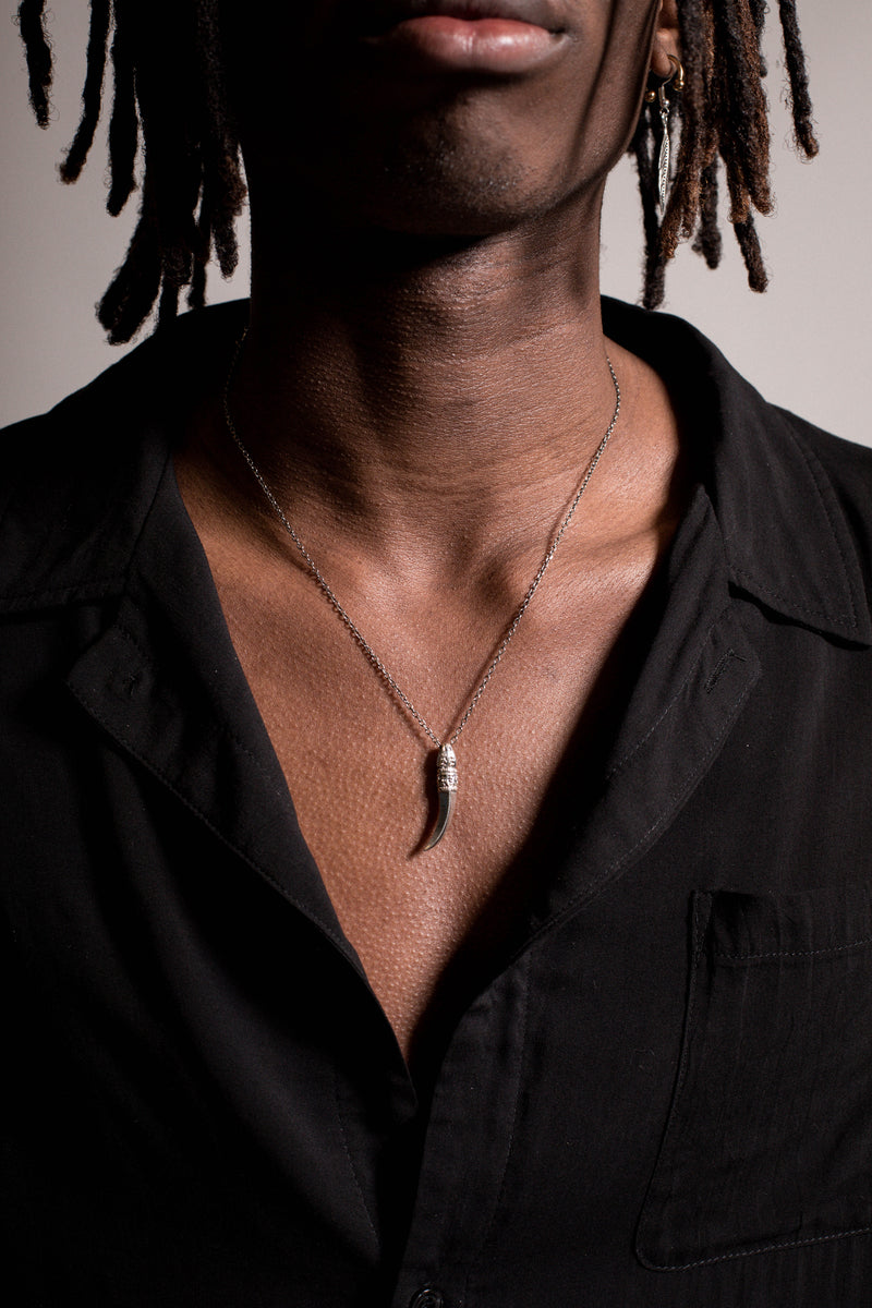 .925 Tooth Necklace