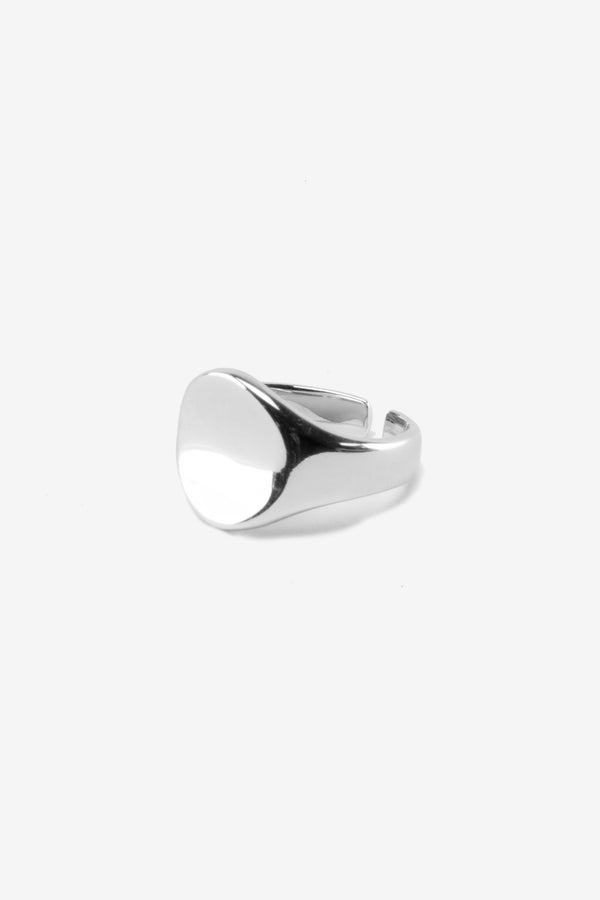 .925 Oval Signet Ring