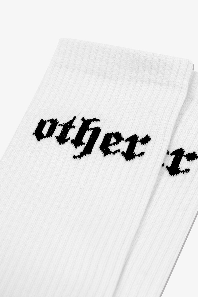 Goth OTHER Sock | White