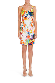 Flowers Sheath Dress