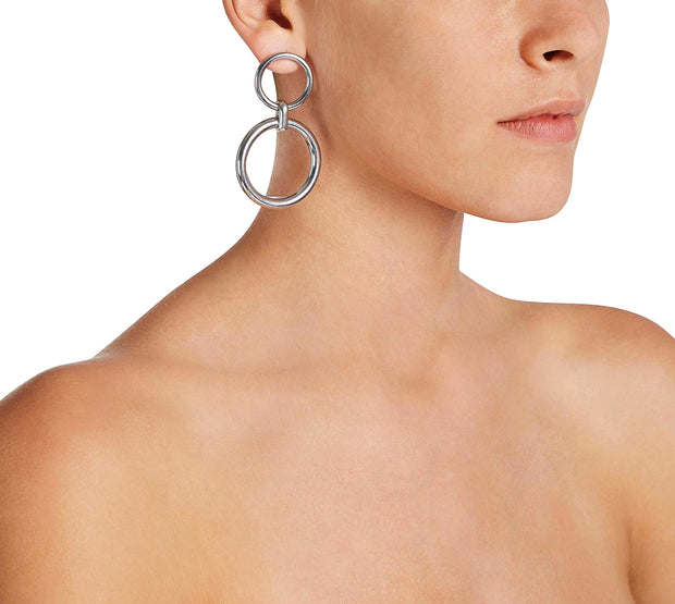 Double earrings