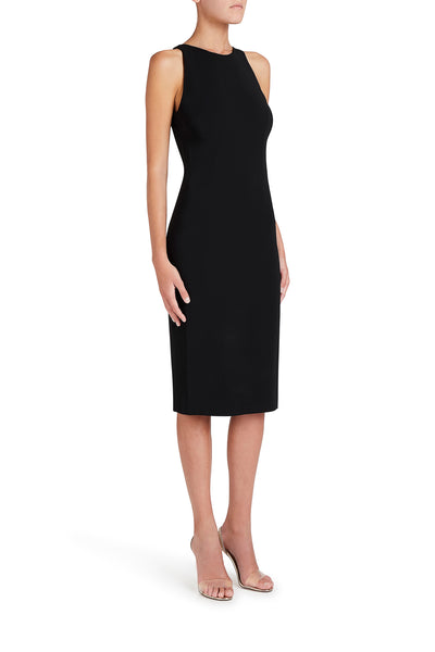 Halterneck Plunge Dress