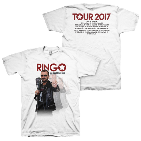 Ringo Starr Peace & Love ™ Allstar Tour T-Shirt