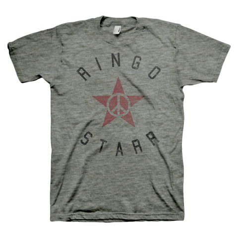 Ringo Starr Peace & Love ™ Peace Star Banner T-Shirt