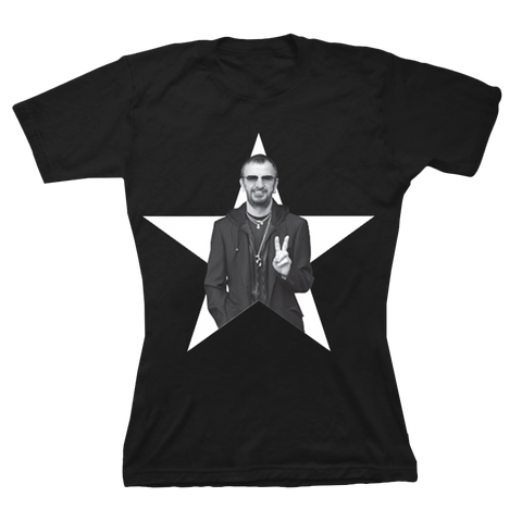 Ringo Starr Peace & Love ™ Star Photo T-Shirt