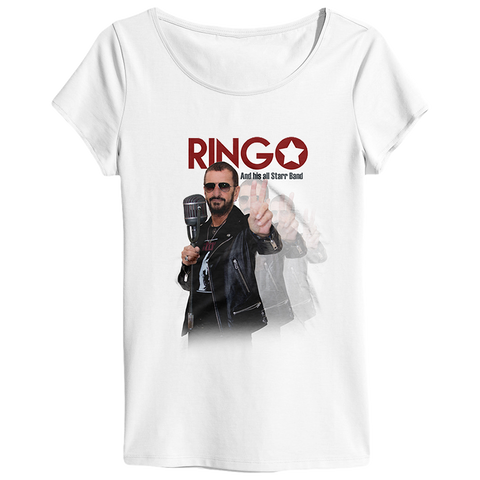 Ringo Starr Peace & Love ™ Allstar Ladies T-Shirt
