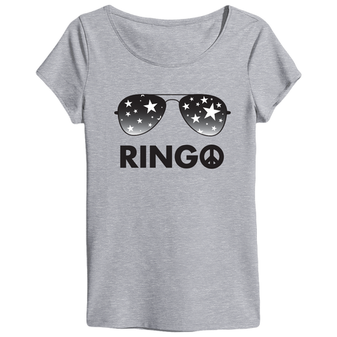 Ringo Starr Peace & Love ™ Sunglasses Ladies T-Shirt