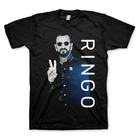 Black RINGO Vertical Tee