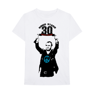 Ringo Starr Peace & Love ™ 30th Anniversary Sketch T-Shirt
