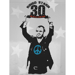 Ringo Starr Peace & Love ™ 30th Anniversary Lithograph