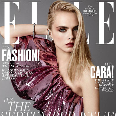 KYBOE! Featured in ELLE Magazine's 2016 September Issue