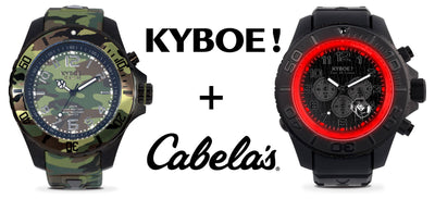 Cabela's Begins Carrying Fashion-Forward Watch Brand KYBOE!