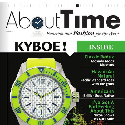 KYBOE! Lands About Time Cover
