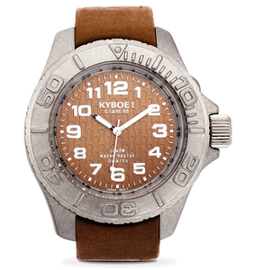 KYBOE! Raw Brown Watch