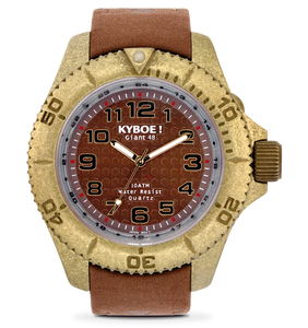 KYBOE! Vintage Brown Watch