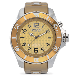 Ladies 40 mm Spicy Mustard