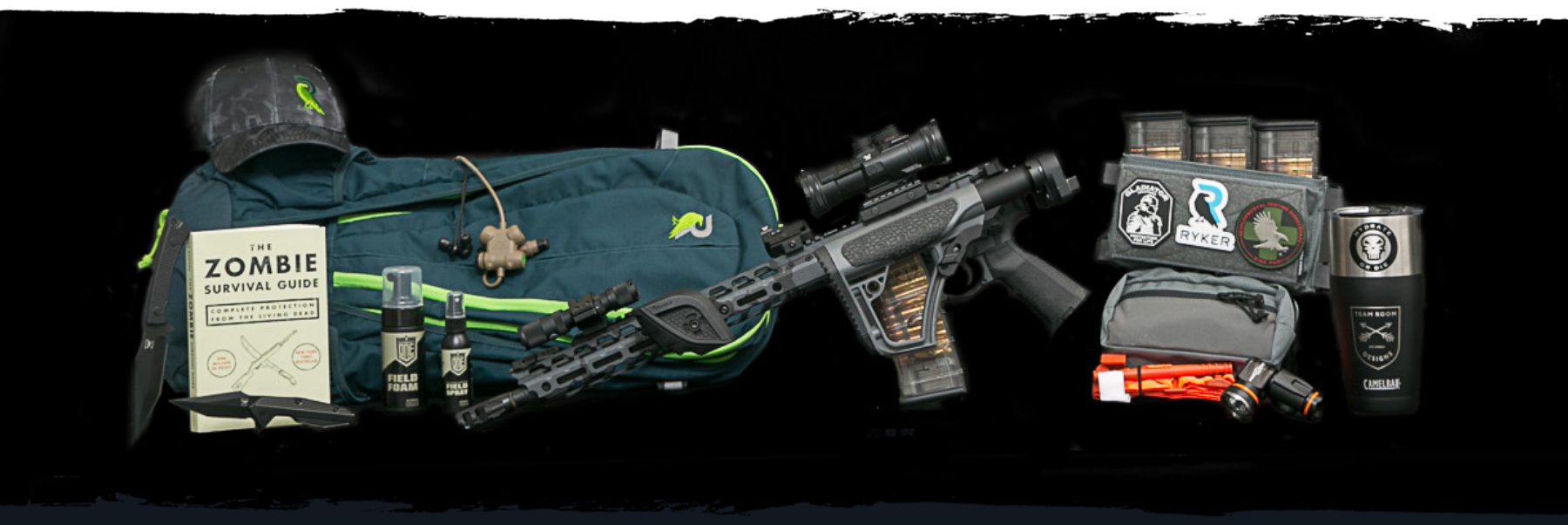 Zombie Defense Kit Products Included