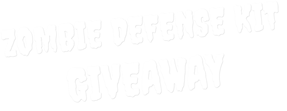 Zombie Defense Kit Giveaway