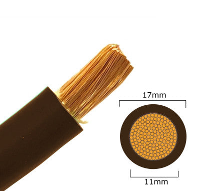 70mm Brown Welding Cable
