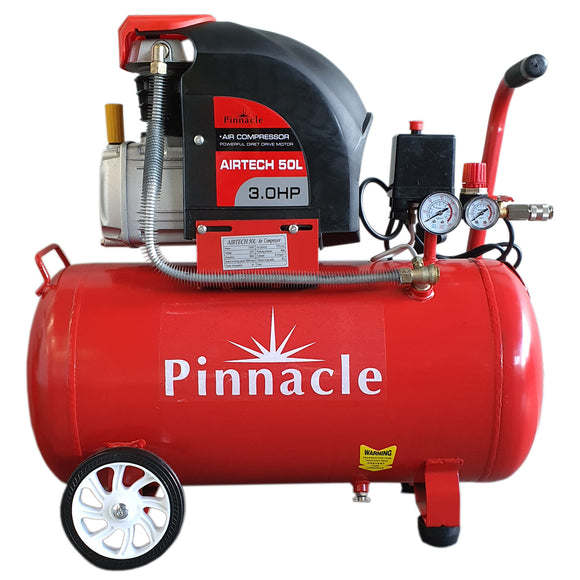 Pinnacle AirTECH 50L Direct-Drive Air Compressor