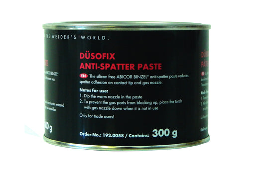 Anti Spatter Paste 300g - used for reducing the build up of spatter on the Mig nozzle