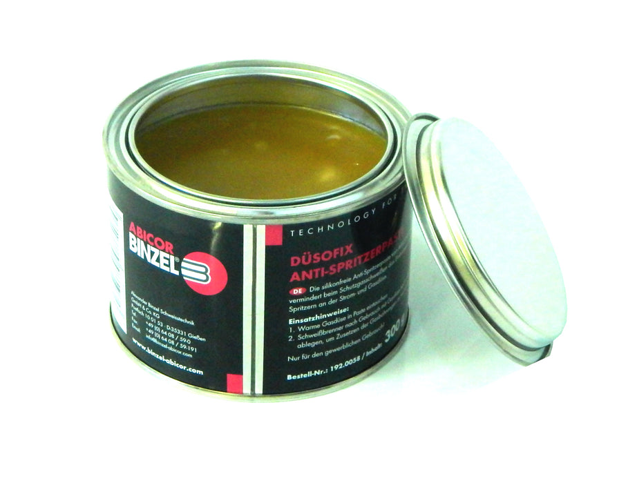 Anti Spatter Paste 300g - reduces spatter build up by providing a protective film on the nozzle