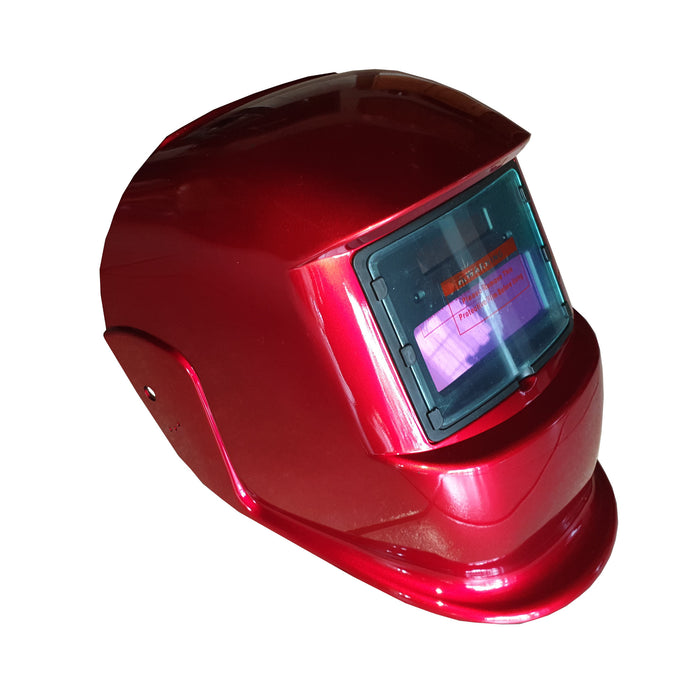 Pinnacle Red Decasola Auto Darkening Helmet Non-Adjustable