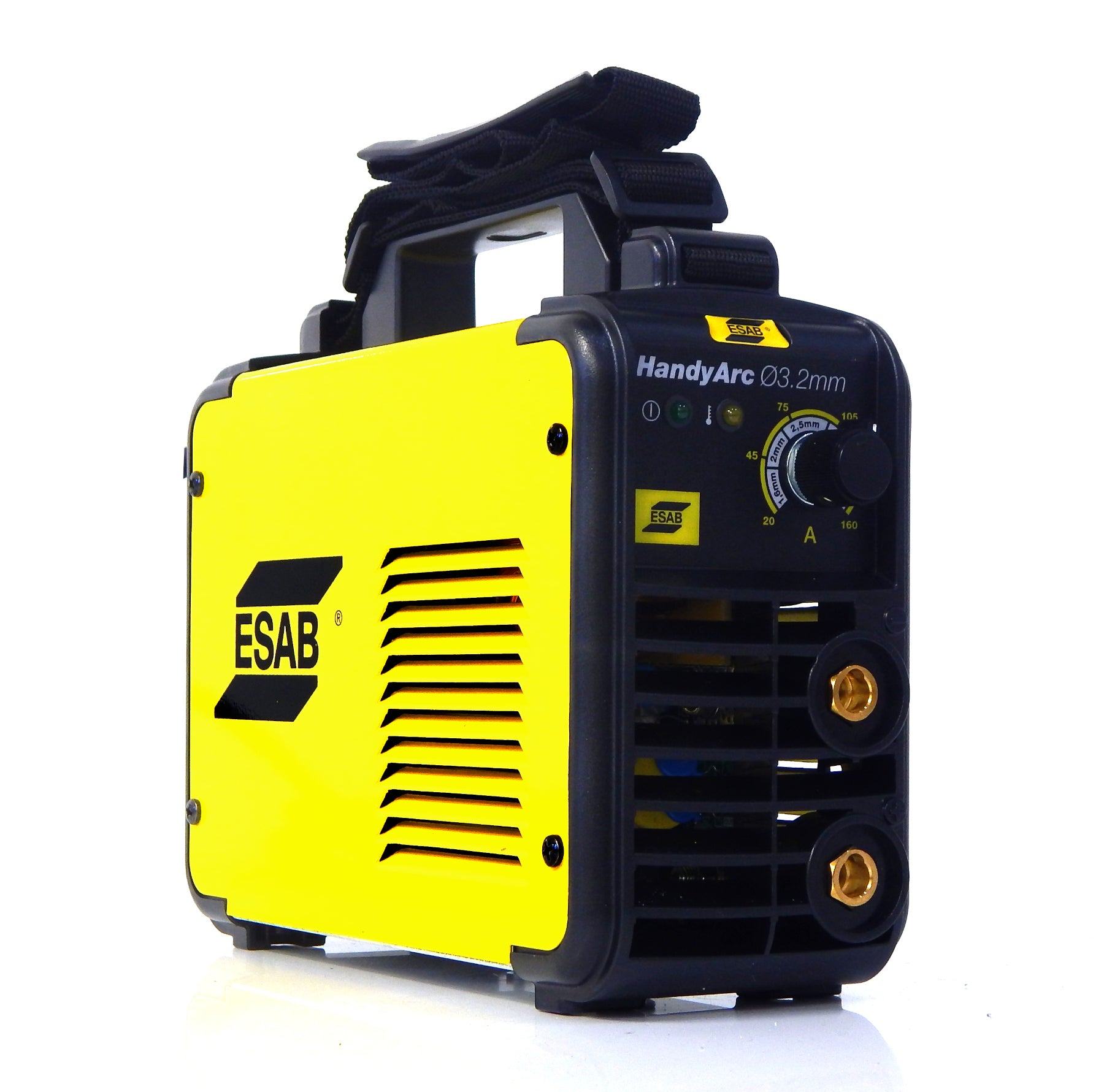 ESAB Handyarc 3.2mm - 160 Amp Inverter Welding Machine. Very Compact and Robust Outer Shell