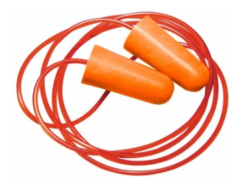 Ear Plugs Corded PU Foam