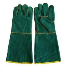Gloves Green Lined 8 Safety Equipment