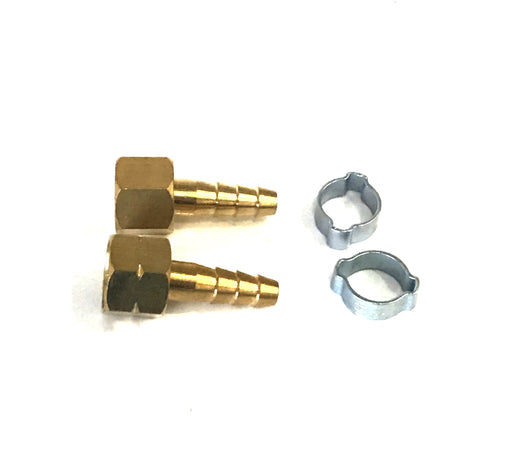 "Hose Kit 3/8"" BSP (Tail Piece + Nut +Clamps)"