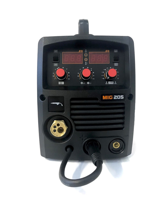 Megatec Mig 205 Welding Machine - 180A Mig Welder with Digital Display