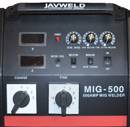 Javweld Mig 500A Welder Incl. Torch Machines