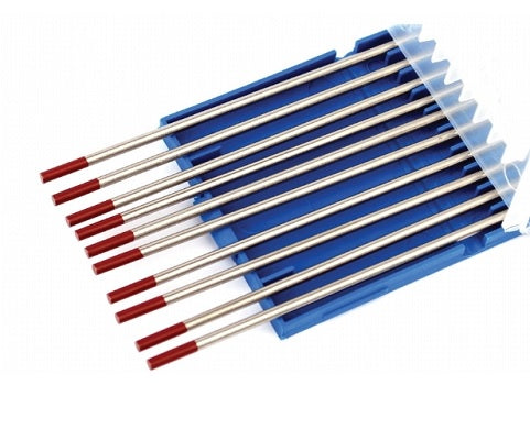 Tungsten Electrodes 2% Thoriated (Red Tip)