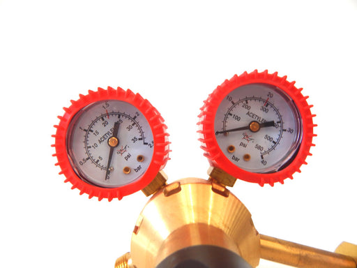 Acetylene Regulator Single Stage Gauges
