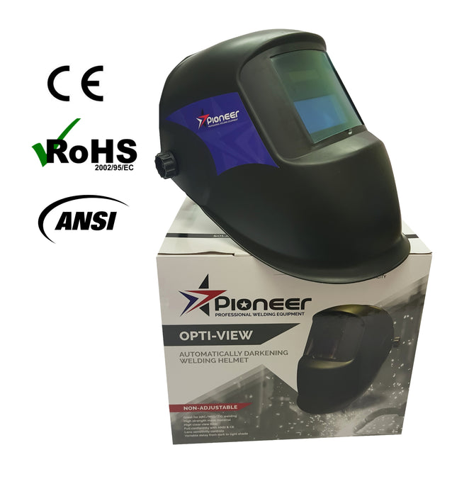 Pioneer - Opti-View Auto Darkening Welding Helmet - Non-Adjustable