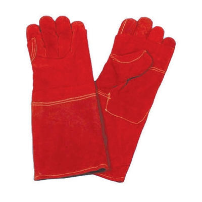 Gloves Red Heat Resistant 8