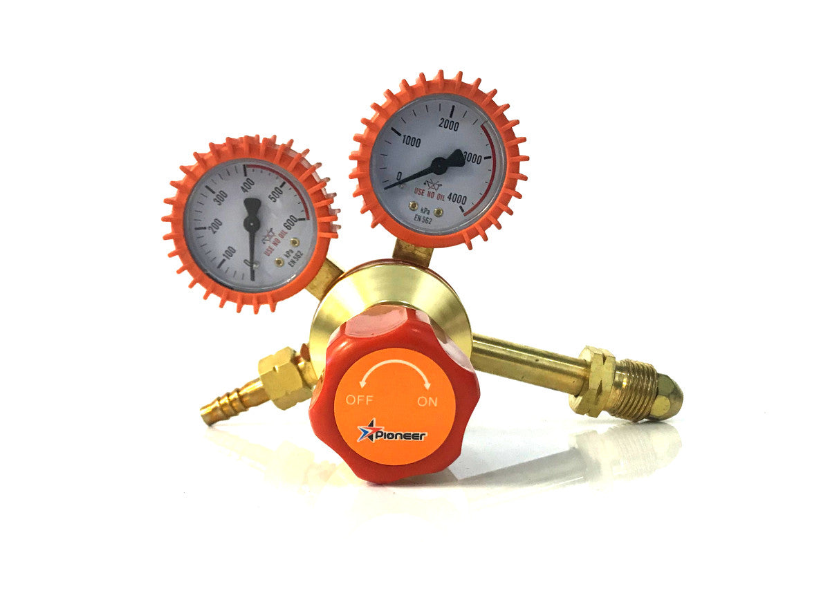 LPG Regulator Twin Gauge