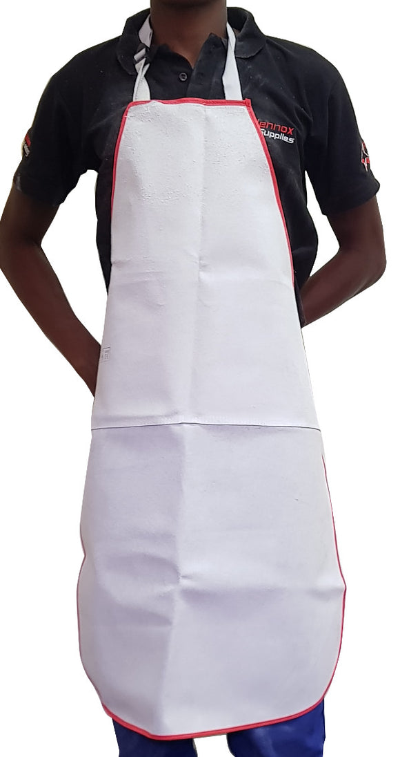 Apron Chrome Leather 1 Piece