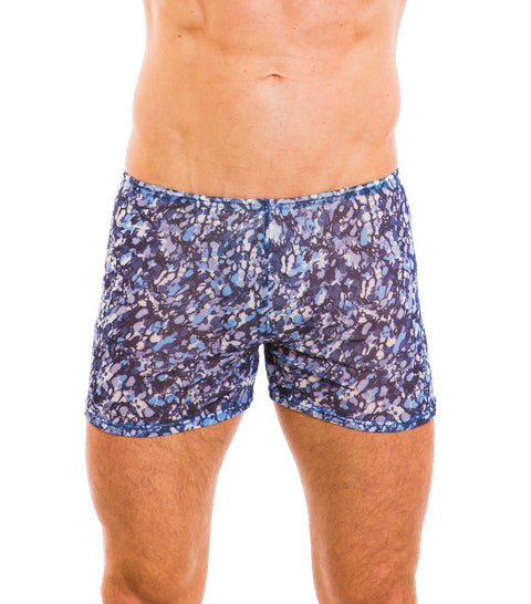 Oceana Tan Through Swim Shorts