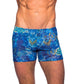Azure Tan Through Swim Shorts