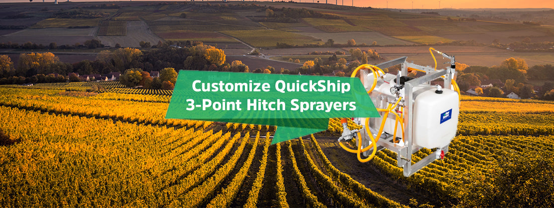 3-Point Hitch QuickShip Sprayers Now With More Customizations
