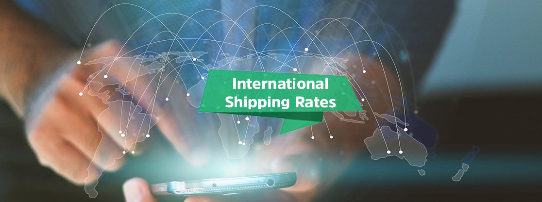 International Shipping Rates - They're Lower Than You Might Realize!
