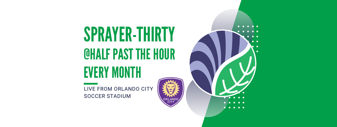 Sprayer-Thirty: Turf Talk at Orlando City Soccer Stadium