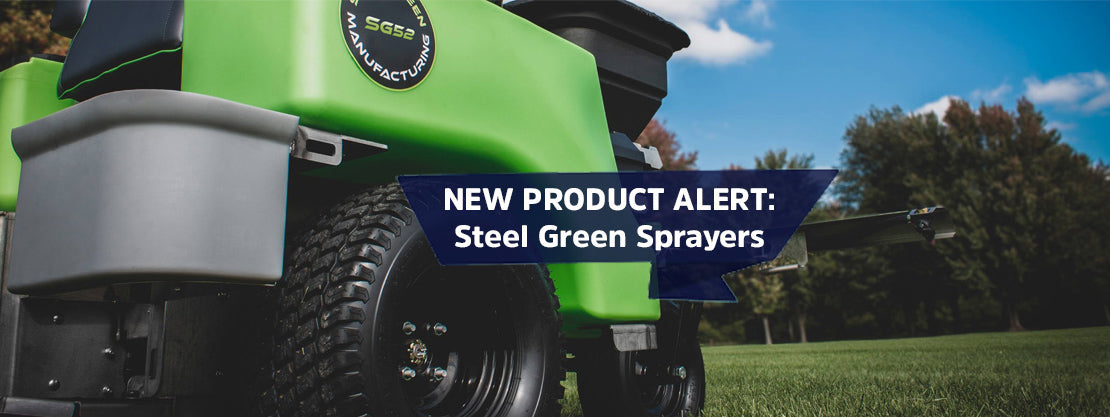 Steel Green Sprayers Now Available at Sprayer Depot