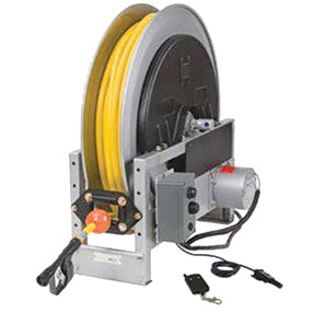RME6014-33-34-10.5 Hannay Remote Controlled Power Rewind Hose Reel