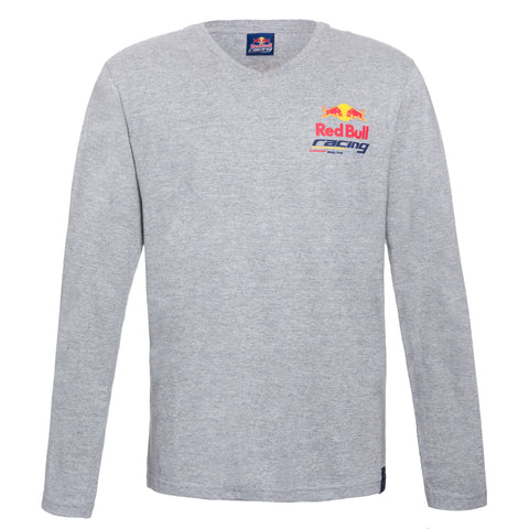 T-shirt manga longa Red Bull Racing logo