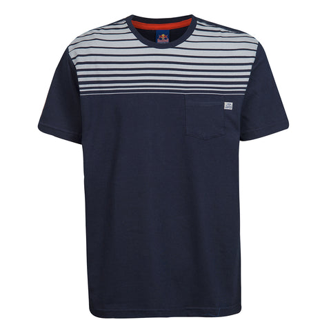 T-Shirt Red Bull Racing Striped