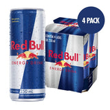 Red Bull Energy Drink - 4 Latas