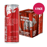 Red Bull Red Edition - 4 Latas